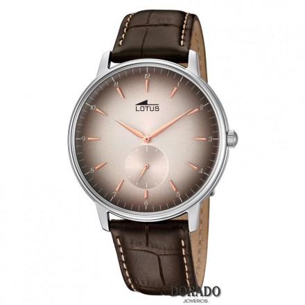 Reloj Lotus Hombre Caja Acero Fondo Marr 211 N Colecci 211 N