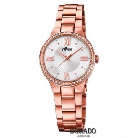 Reloj Lotus mujer acero IP oro rosa 18394/1