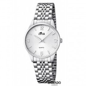 Reloj Lotus mujer acero fondo blanco 15884/2