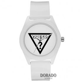 reloj guess mujer charol blanca - W65014L1