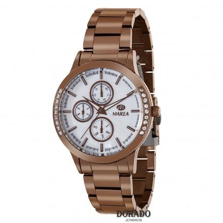 Reloj Marea mujer acero marron B54108/5