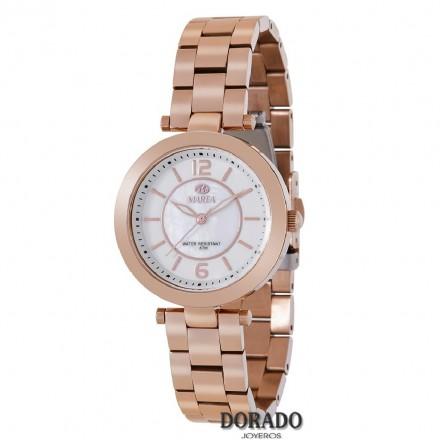 Reloj Marea mujer acero oro rosa B54106/4
