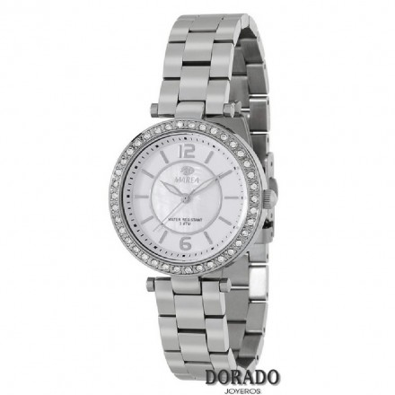 Reloj Marea mujer plateado fondo nacar - B54105/3