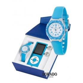 Reloj Marea niño caucho azul - B25128/20
