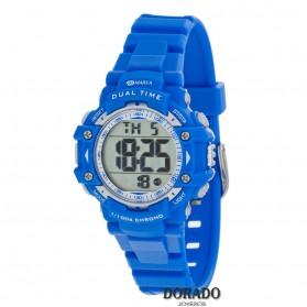 Reloj Marea niño caucho azul digital - B40181/2