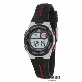 Reloj Marea niño caucho negro y rojo - B25149/1