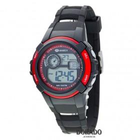Reloj Marea niño caucho negro - B44092/1