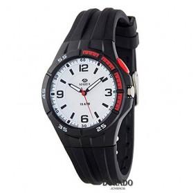 Reloj Marea niño caucho negro - B25146/1