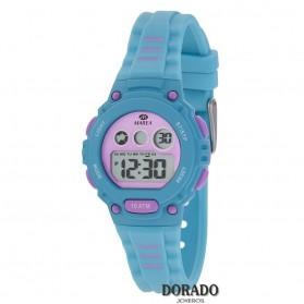 Reloj Marea niña caucho turquesa y lila - B25156/2