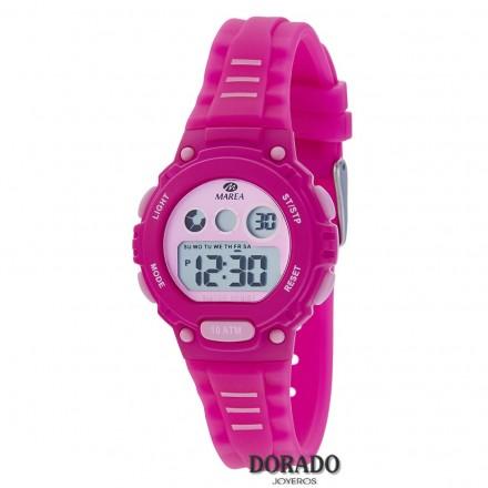 Reloj Marea niña caucho fucsia - B25156/3