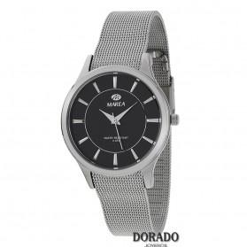 Reloj Marea mujer malla fondo negro - B54110/2