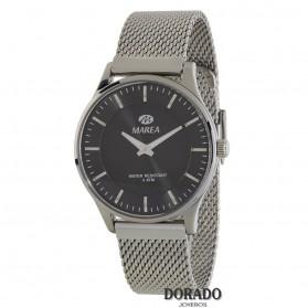 Reloj Marea hombre malla fondo negro - B54117/1
