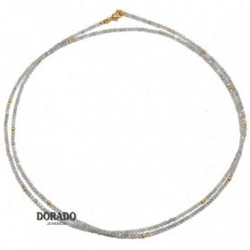 COLLAR PLATA LABRADORITA - 244/00030