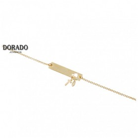 PULSERA PLATA - 244/PU00024DO