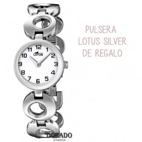 Reloj Lotus niña acero 15951/4