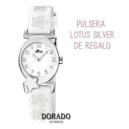 Reloj Lotus niña piel blanca 18173/1