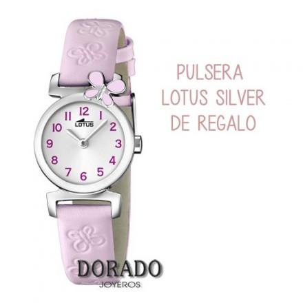 Reloj Lotus comunion niña piel lila 15948/3