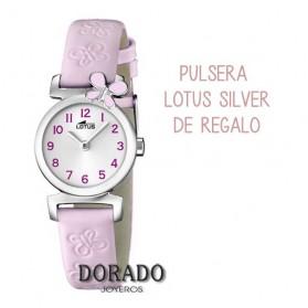 Reloj Lotus niña piel rosa 15948/2