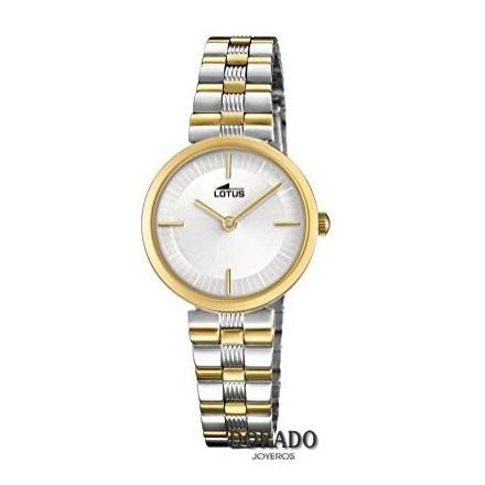 Reloj Lotus mujer acero bicolor 18542/1