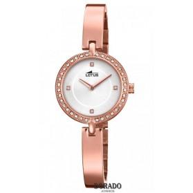 fd27944d4d5d Reloj Lotus correa estrecha acero rosa caja circonitas 18549 1