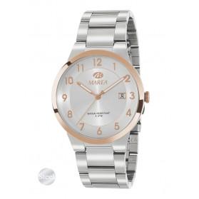 Reloj Marea hombre acero bisel IP oro rosa - B54144/4