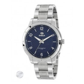 Reloj Marea hombre acero fondo azul marino textura - B54148/3