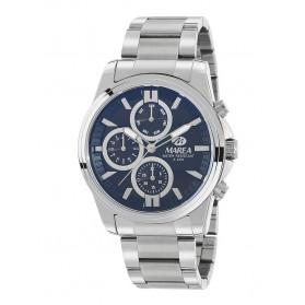Reloj Marea hombre acero fondo azul grisáceo - B54128/2