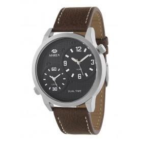 Reloj Marea hombre doble horario correa piel - B41233/1