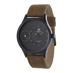 Reloj Marea hombre caja negra correa piel marrón - B54083/6