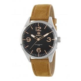 Reloj Marea hombre correa piel mostaza - B54134/1