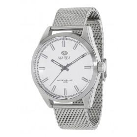 Reloj Marea hombre correa malla acero fondo blanco - B54099/1