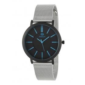 Reloj Marea hombre caja negra correa malla - B21176/18
