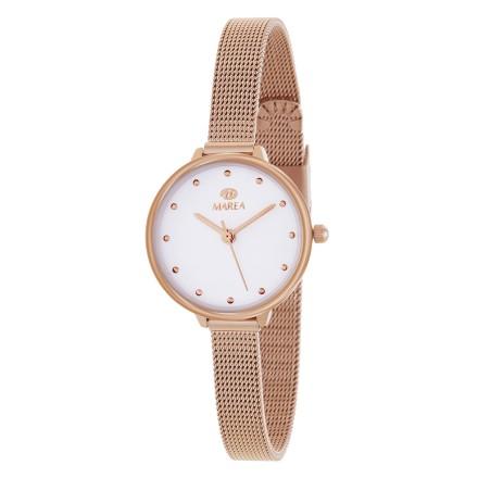 Reloj Marea mujer malla oro rosa estrecha - B35308/3