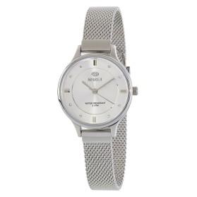 Reloj Marea plateado mujer correa malla estrecha - B54138/1