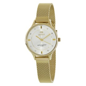 Reloj Marea mujer dorado correa estrecha malla - B54138/6