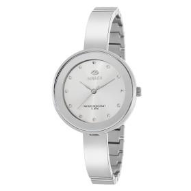 Reloj Marea mujer plateado correa semirrigida estrecha - B54143/1