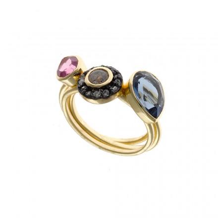 anillo-salvatore-plata-dorada-con-piedras-163s0181