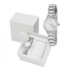 Reloj Marea niña comunion plateado pulsera regalo b41248/3