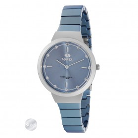 Reloj Marea mujer correa acero celeste - B54165/3