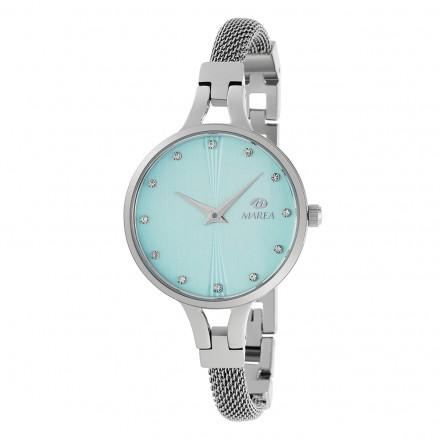 Reloj Marea mujer malla estrecha fondo verde azulado B54158/2