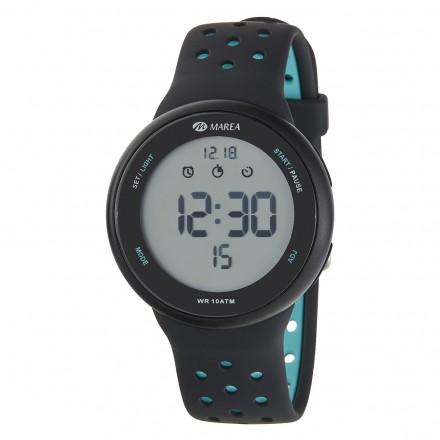 Reloj Marea hombre digital correa caucho deportivo - B44098/7